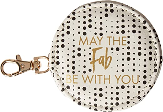 Mary Square 21509 May The Fab Be With You Earbud Case 3 x 3 x 1.8 Multicolor