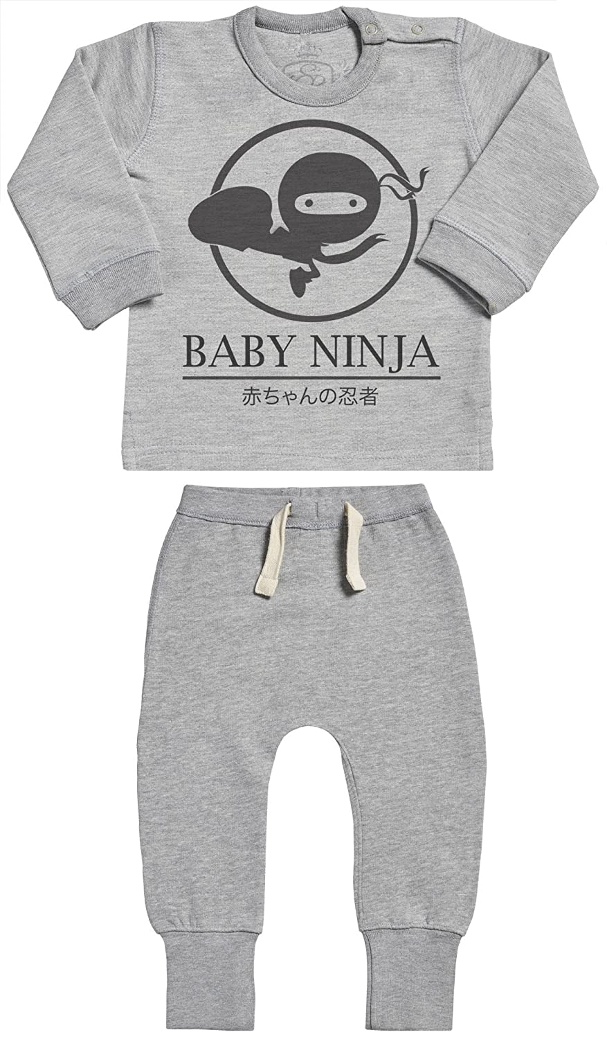 SR Baby Ninja Baby Outfit Baby Gift Set Baby Sweater /& Baby Joggers Baby Clothing Outfit