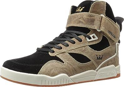 e637f2cf403d Supra Mens Bleeker Tan Black Off White Shoes  Amazon.co.uk  Shoes   Bags