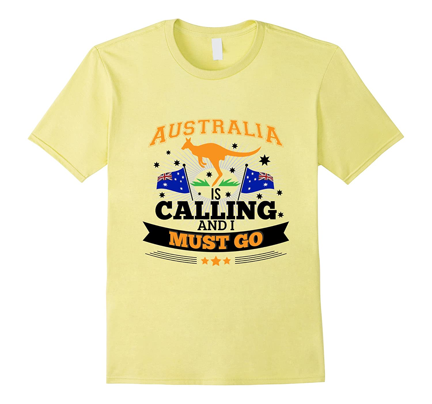 Australia Is Calling And I Must Go Tee Mountain T Shirt
