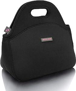 ROYALFAIR Neoprene Lunch Bag Tote Reusable Healthy Lunch...