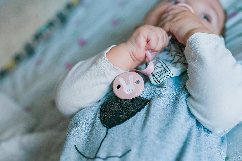 Suavinex Attache Sucette Hygge Baby Ruban Gris 1 Unit/é