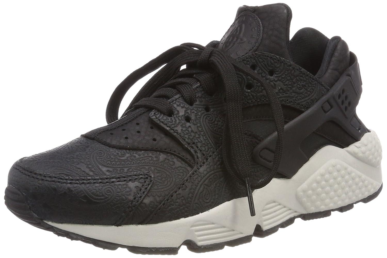 the best attitude 0dd44 c7b8d Amazon.com   Nike Air Huarache Run Premium Women s Shoes Black Light Bone  683818-010   Athletic
