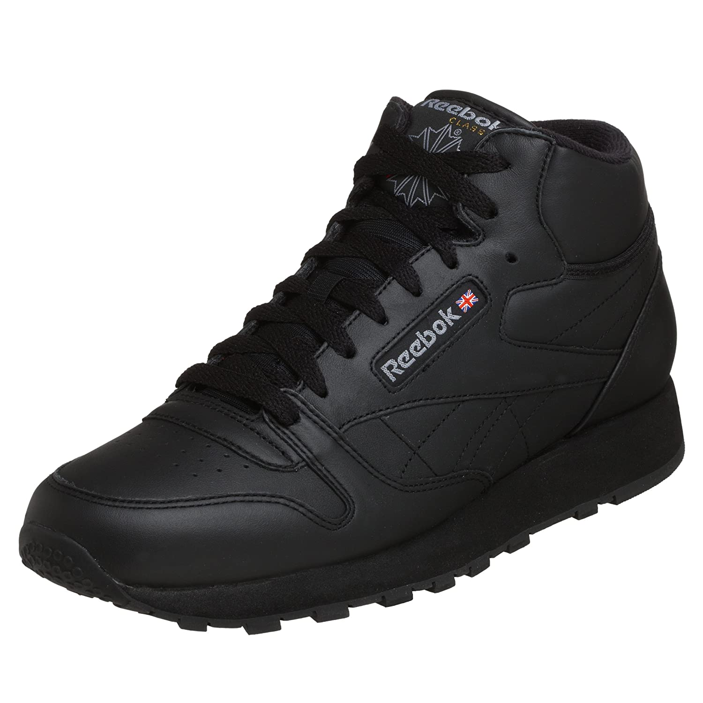 d3691c6083536 Reebok men classic leather mid sneaker black light grey fashion sneakers  jpg 1500x1500 Reebok mid