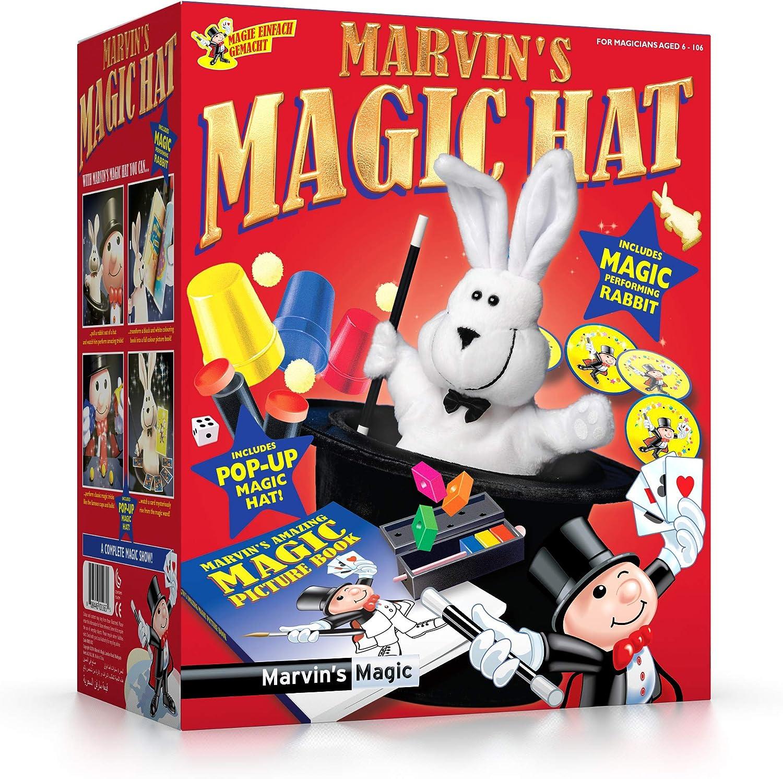 Marvin's Magic Rabbit & Top Hat, Multicolor (MME 003)