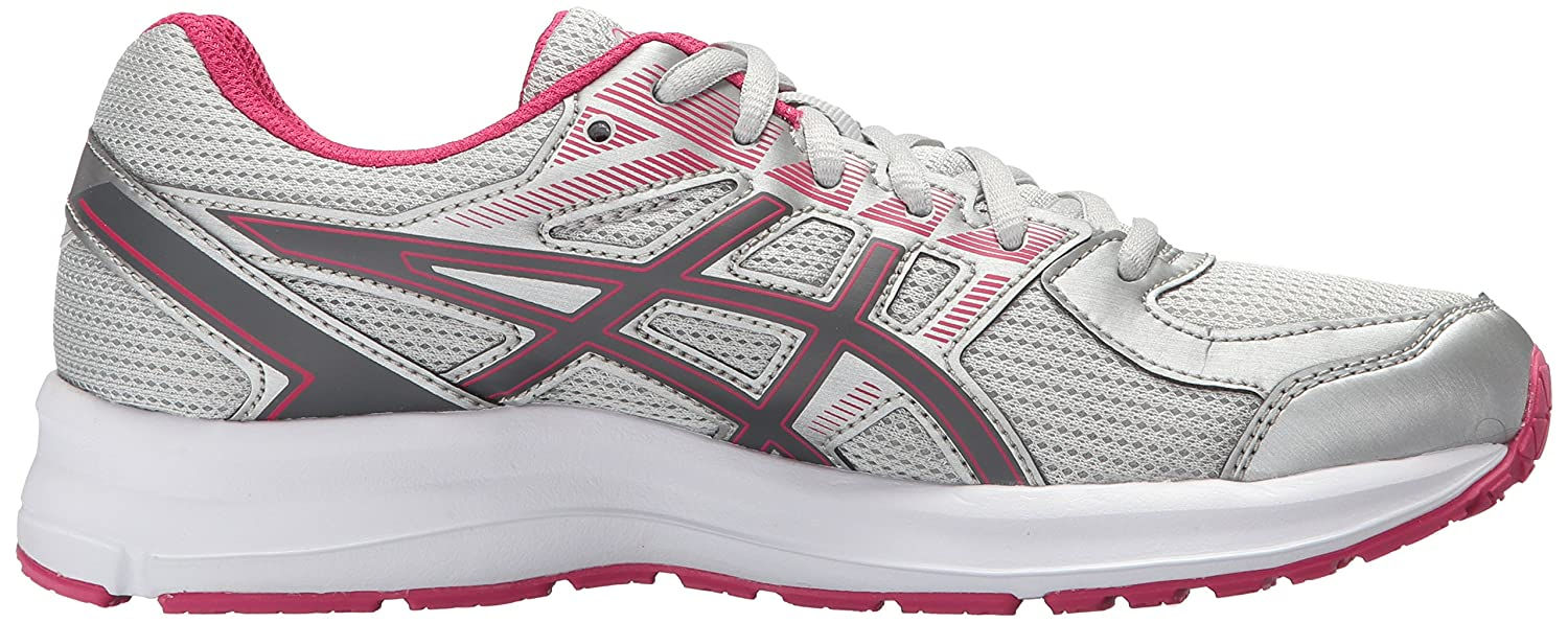 ASICS Women's Jolt B073JR7PKZ 7 (D)|Glacier Grey/Carbon/Bright Rose