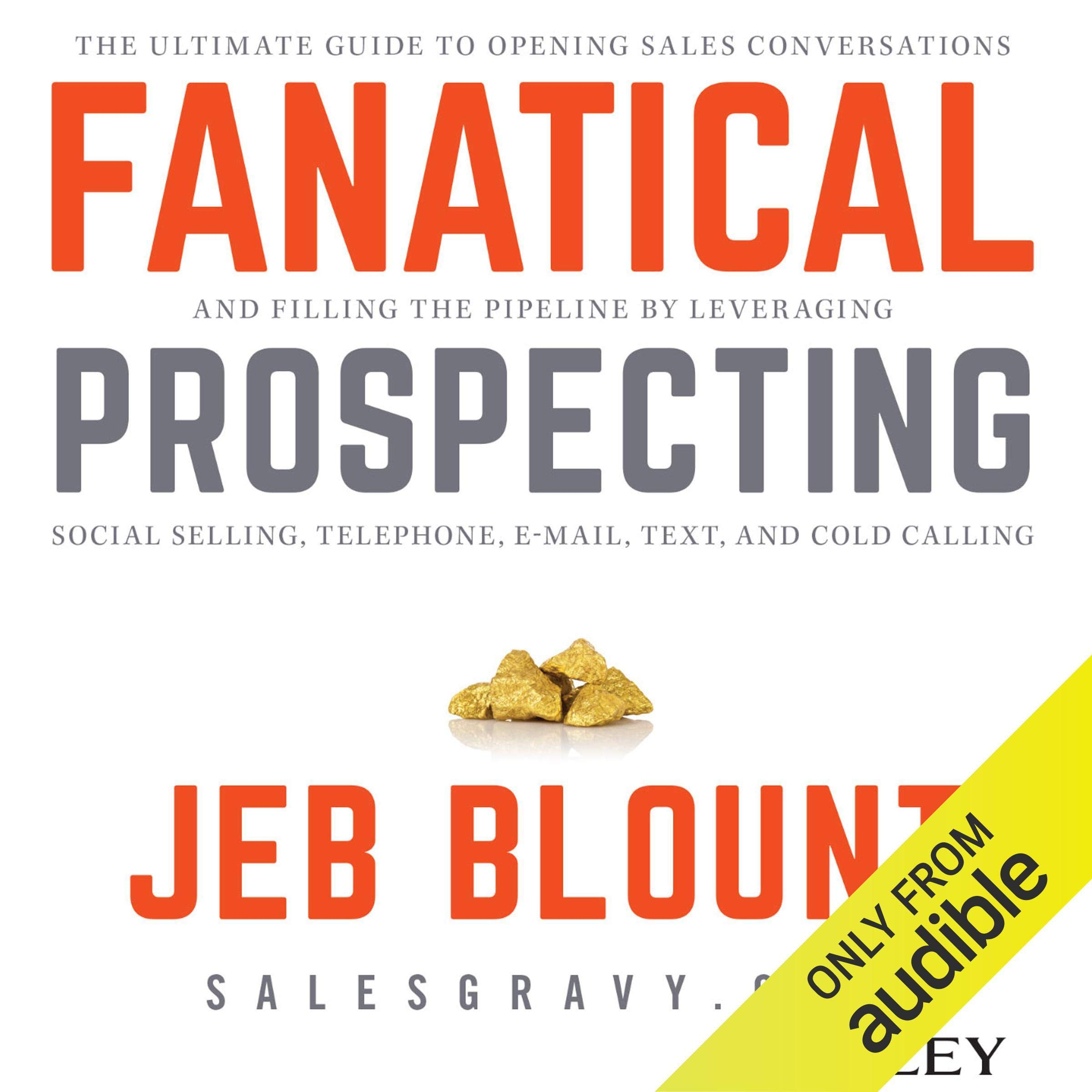 Fanatical Prospecting  The Ultimate Guide For Starting Sales Conversations And Filling The Pipeline By Leveraging Social Selling Telephone E Mail And Cold Calling
