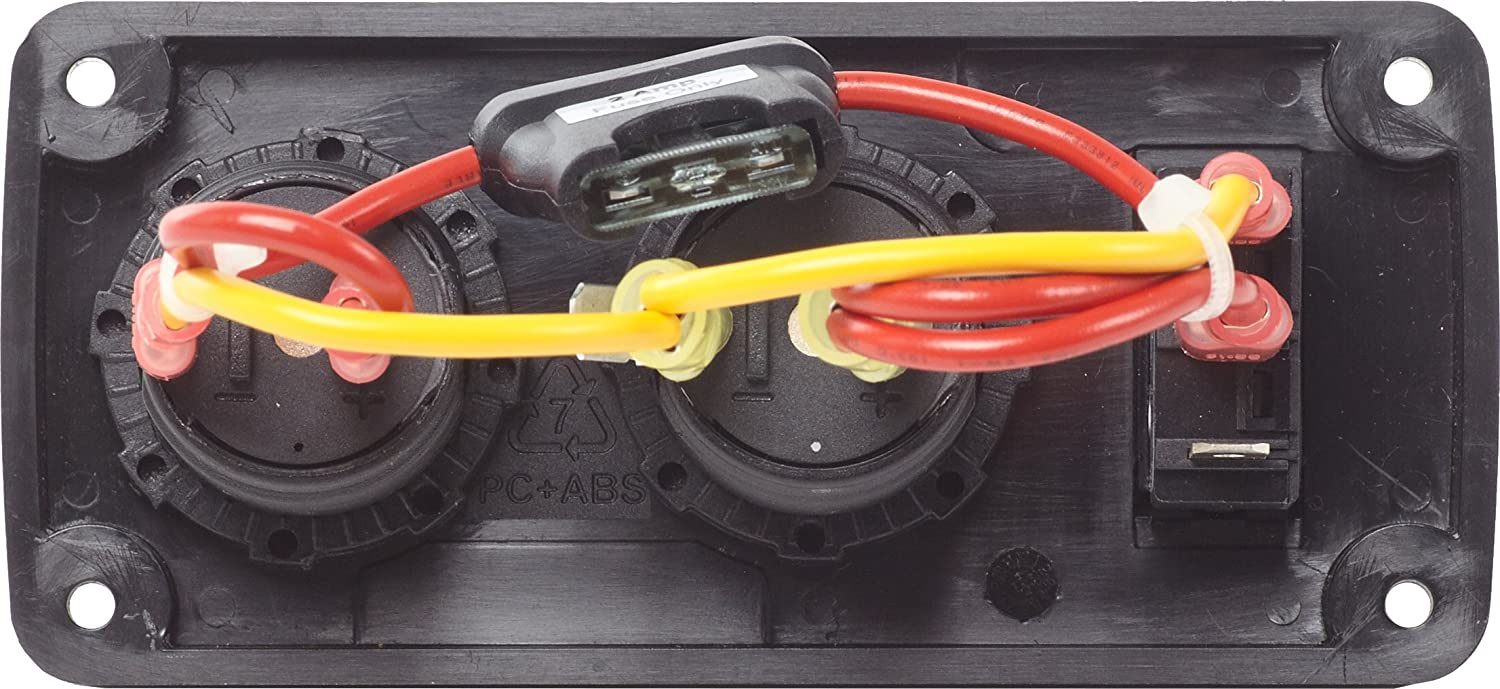Below Deck Charging Panel 21a Dual Usb Charger 12v Guest Marine Battery Wiring Diagram Socket Sports Outdoors