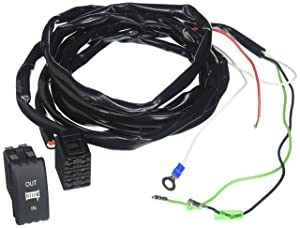 KFI Products DRS-K UTV Dash Rocker Switch with Blue Backlit/Complete Harness