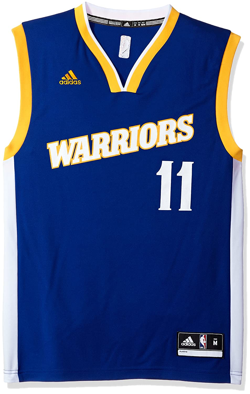 f5a84163 Amazon.com : NBA Golden State Warriors Klay Thompson #11 Men's Stretch  Replica Jersey, XX-Large, Blue : Sports & Outdoors
