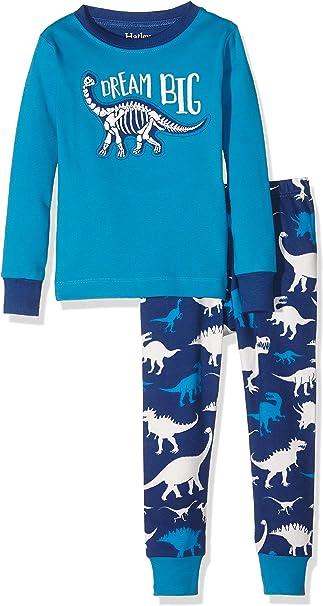 Hatley Organic Cotton Long Sleeve Printed Pyjama Sets Pigiama Bambina