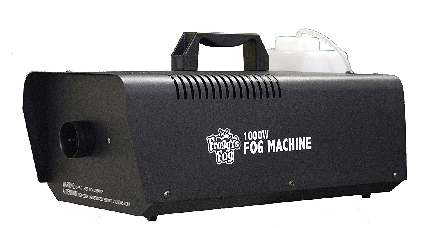 Froggys Fog - Timer Remote for Fog and Snow Machines - 400 Watt Fog Machine, 1000 Watt Fog Machine, Ground Fog Machine & FFM-SNOW Snow Flake Machine Froggy's Fog WH-FFM