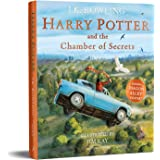 HARRY POTTER AND THE CHAMBER OF SECRETS ILLUSTRATED EDITION (192 JEUNESSE)