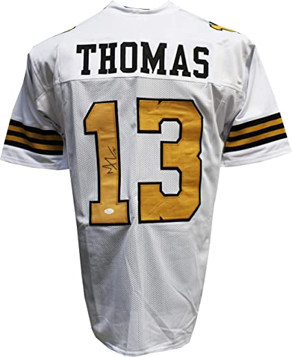outlet store 4ee88 f5949 Authentic Michael Thomas Autographed Custom Jersey JSA COA ...