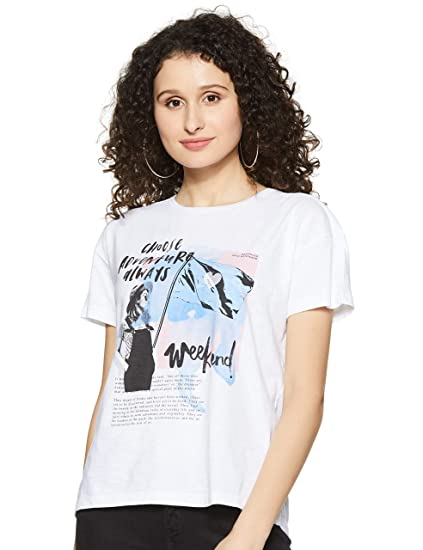 Buy Wrangler Women S Loose Fit T Shirt At Amazon In You'll love the way this shirt looks!! amazon in