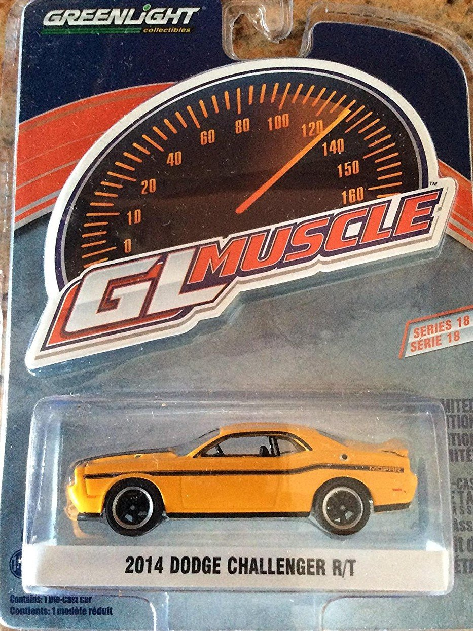 1 64 Greenlight Muscle Series 18 Collection 2014 Dodge Challenger R T Diecast Model Car