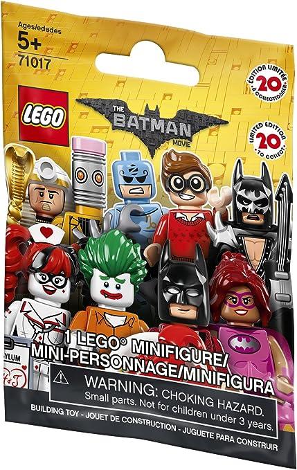 Komplettsatz mit allen 20 Minifiguren LEGO 71017 The Lego Batman Movie Figur