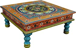 Hand-painted mini table (JH1-s043b) / Tables & coffee tables
