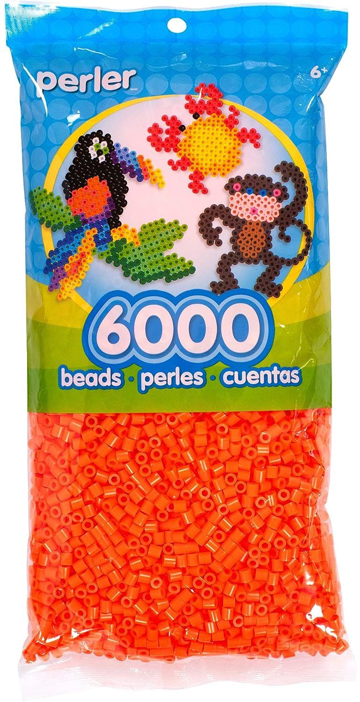 Canutillos Beads 6000 Unidades Color naranja