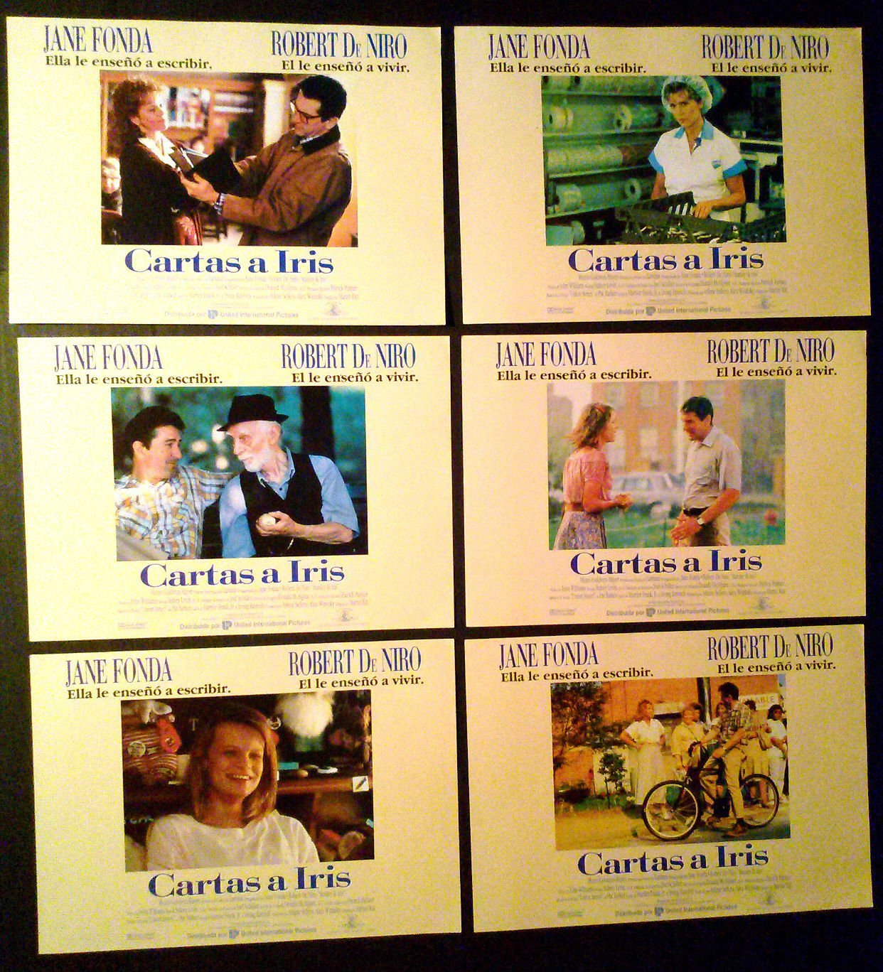 Amazon.com: Lobby Card Set~ Stanley IRIS ~1990 ~Robert De ...