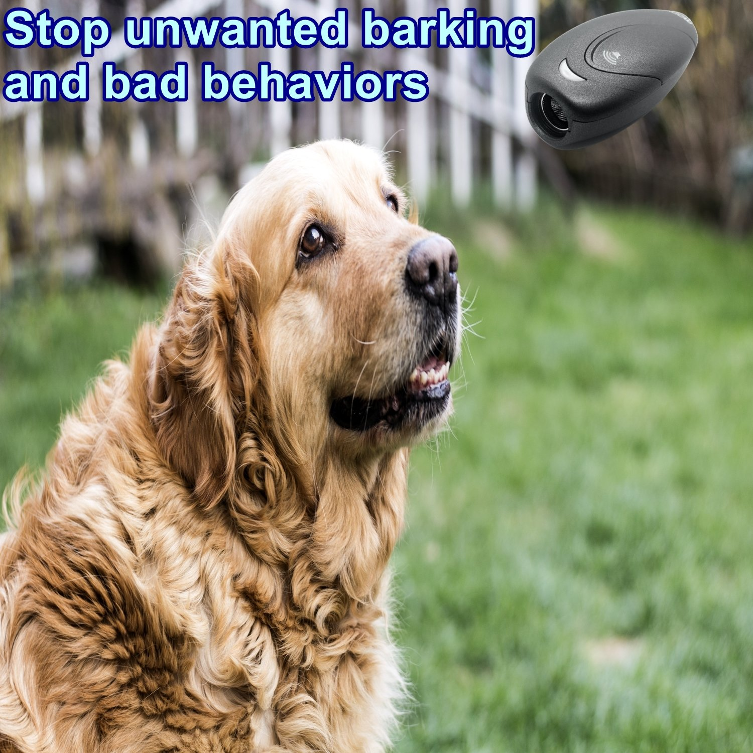 BossBee Ultrasonic barking control, Dog bark control, Bark trainer, Dog control-anti barking devices, Handheld dog bark deterrent with Wrist Strap,No bark devices,Barking dog deterrent,Bark controller