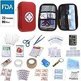 Oumers First Aid Kit Medical Bag Car Home Survival
