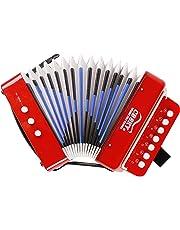 CB SKY 7 Keys Kids Accordion Musical Toys/Kids Musical Instrument (R1)