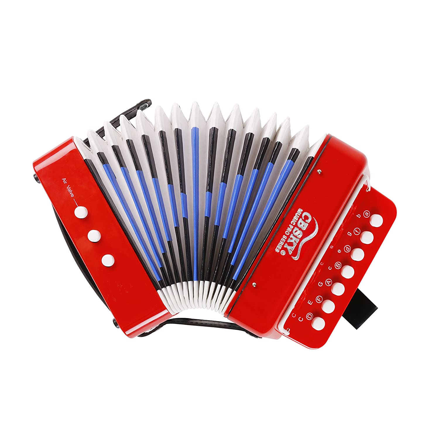 CB SKY 7 KEYS KIDS ACCORDION MUSICAL TOYS/ KIDS MUSICAL INSTRUMENT (R2) MA104R