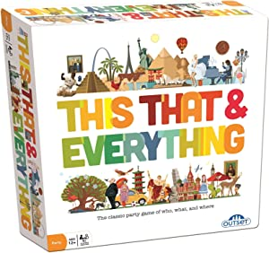 Party Game - Race To Describe A Variety Of People, Places, And Things -A Fast Paced, Easy To Learn, Crowd Pleaser - Features 396 Cards(Ages 12+)