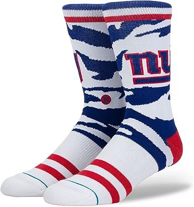 STANCE WOMENS NFL NY NEW YORK GIANTS BLUE OVER THE CALF SOCKS