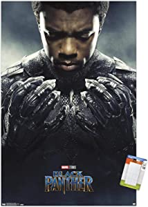 Trends International Marvel Cinematic Universe Black Panther - One Sheet Wall Poster, 14.725