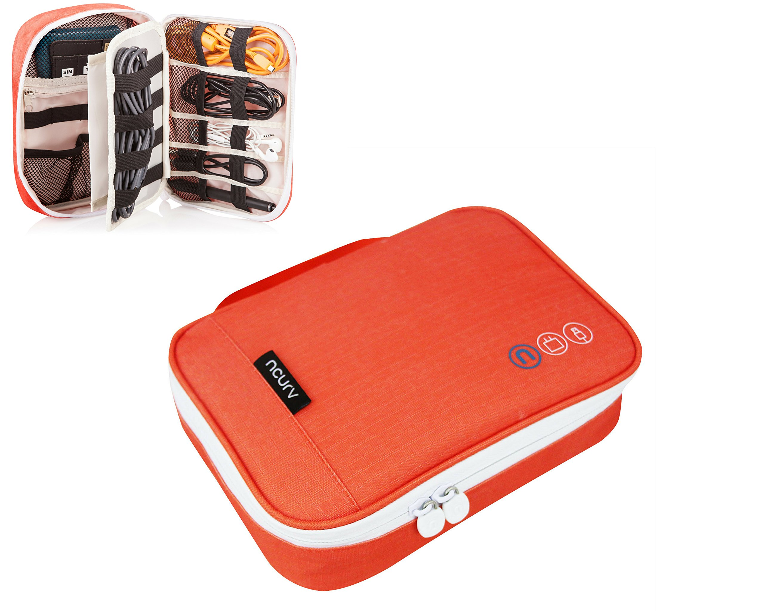 Travel Cord Organizer - Cord Holder by NCURV- Use it as iPhone ...