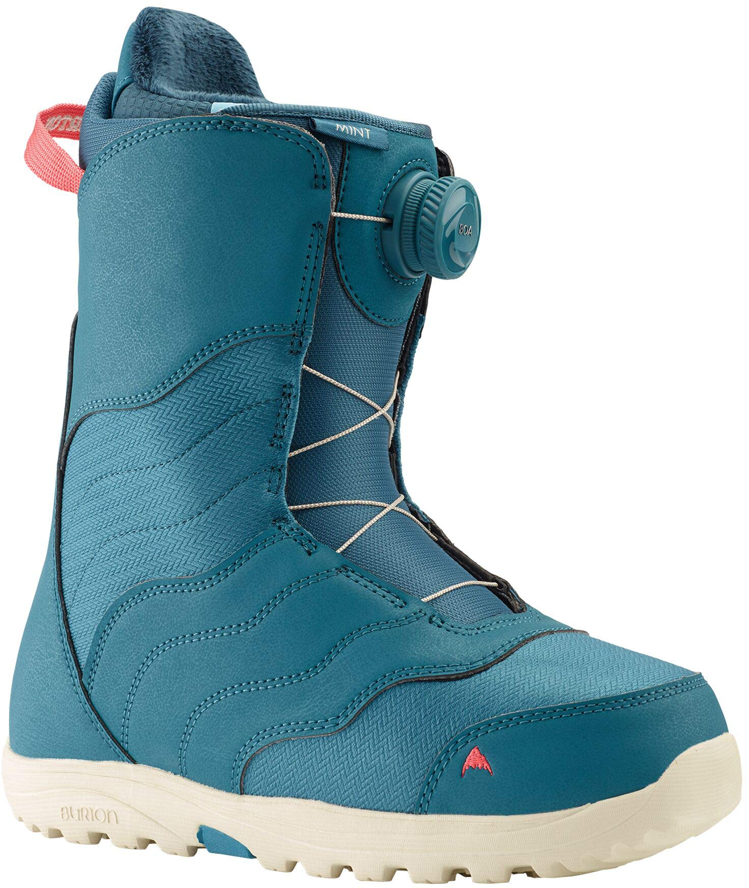 Burton Mint BOA Snowboard Boots Womens Sz 7 Storm Blue by Burton