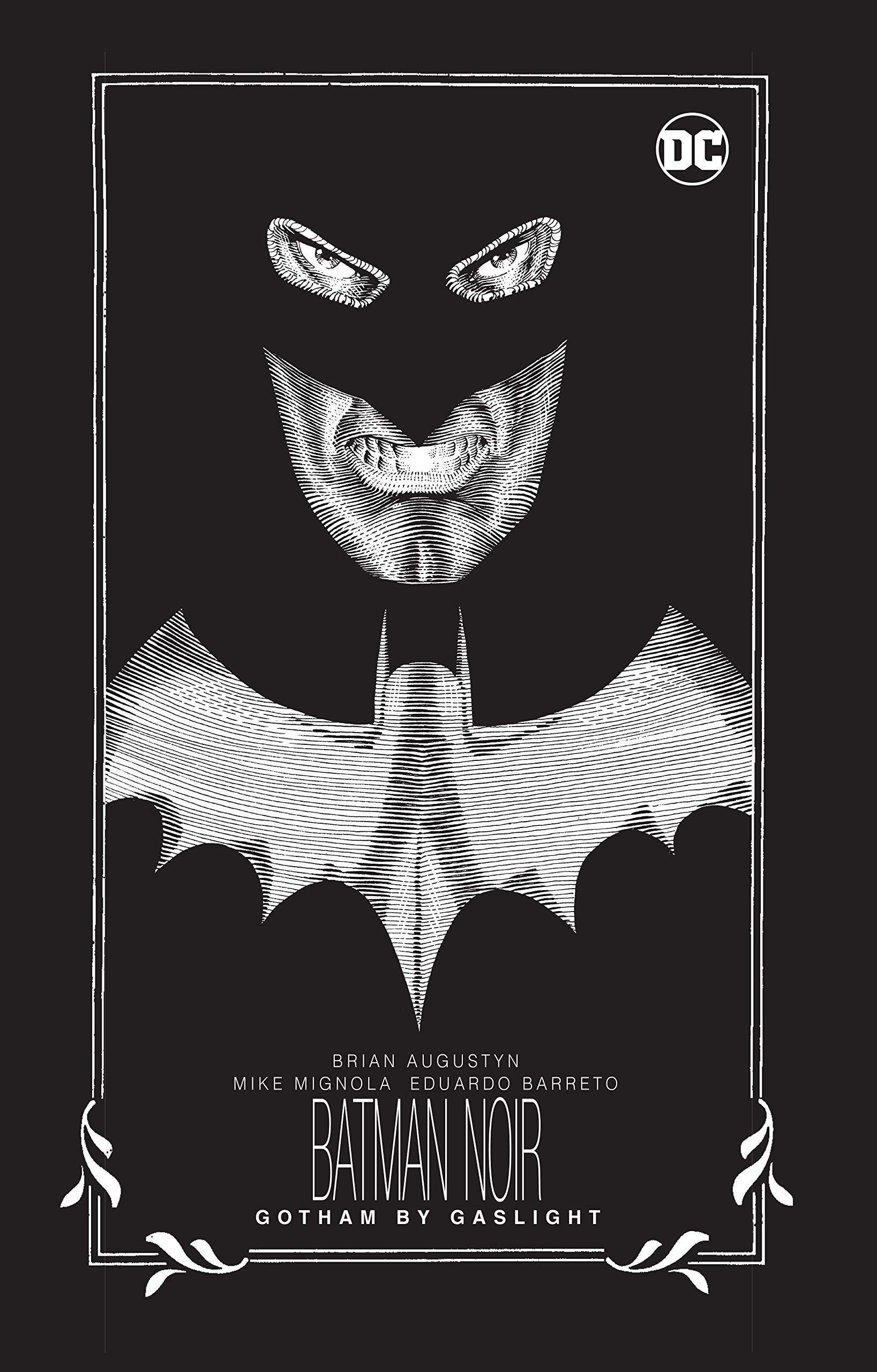 Amazon Com Batman Noir Gotham By Gaslight 9781401288914 Augustyn Brian Mignola Mike Books