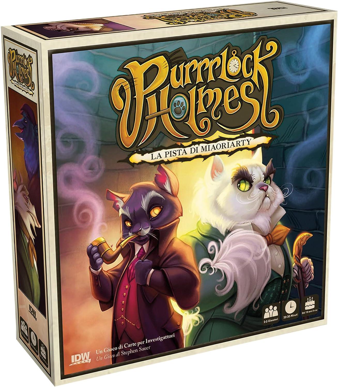 Asmodee- Purrrlock Holmes-Juego de Mesa Edición en Italiano (8161 Italia): Amazon.es: Juguetes y juegos