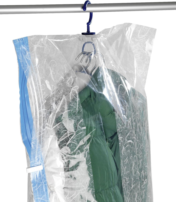 WENKO Kleideraufbewahrung Raumspar-Kleidersack-Set L /& XL 2er Set