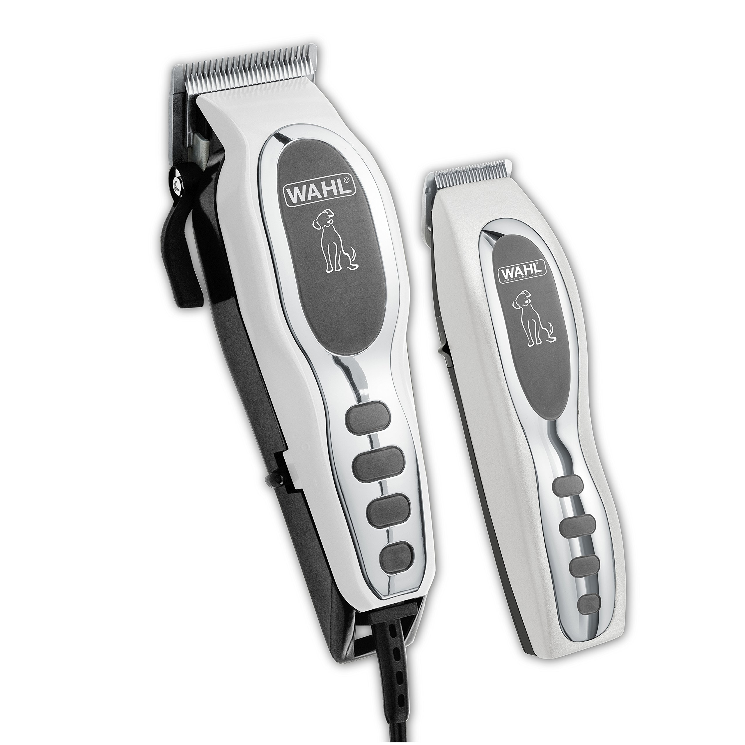 Wahl Pet-Pro Clipper & Trimmer Pet Grooming Combo Kit for Dogs and Cats: Comes with a corded Clipper and a battery operated Trimmer, by The Brand Used By Professionals. #9284
