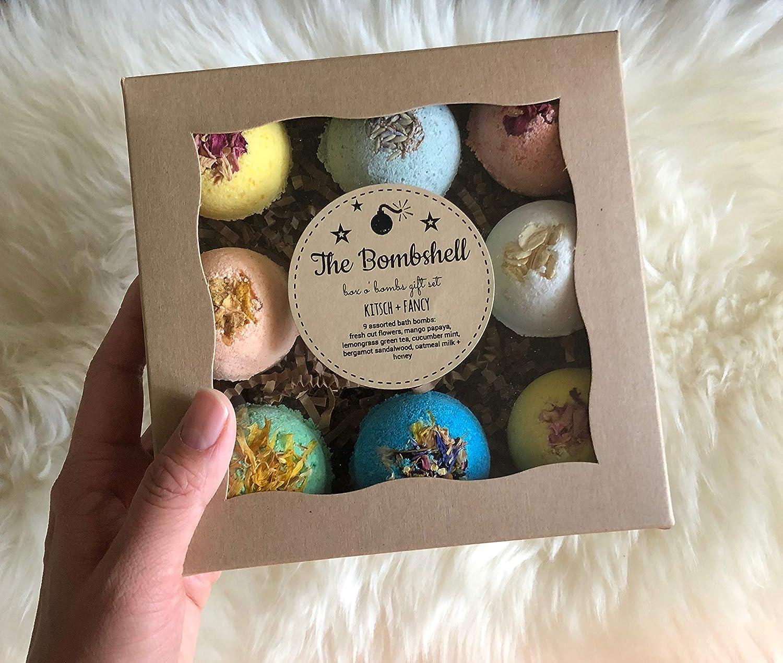 Amazon Com Mother S Day Gift Box Bath Bomb Gift Set Handmade
