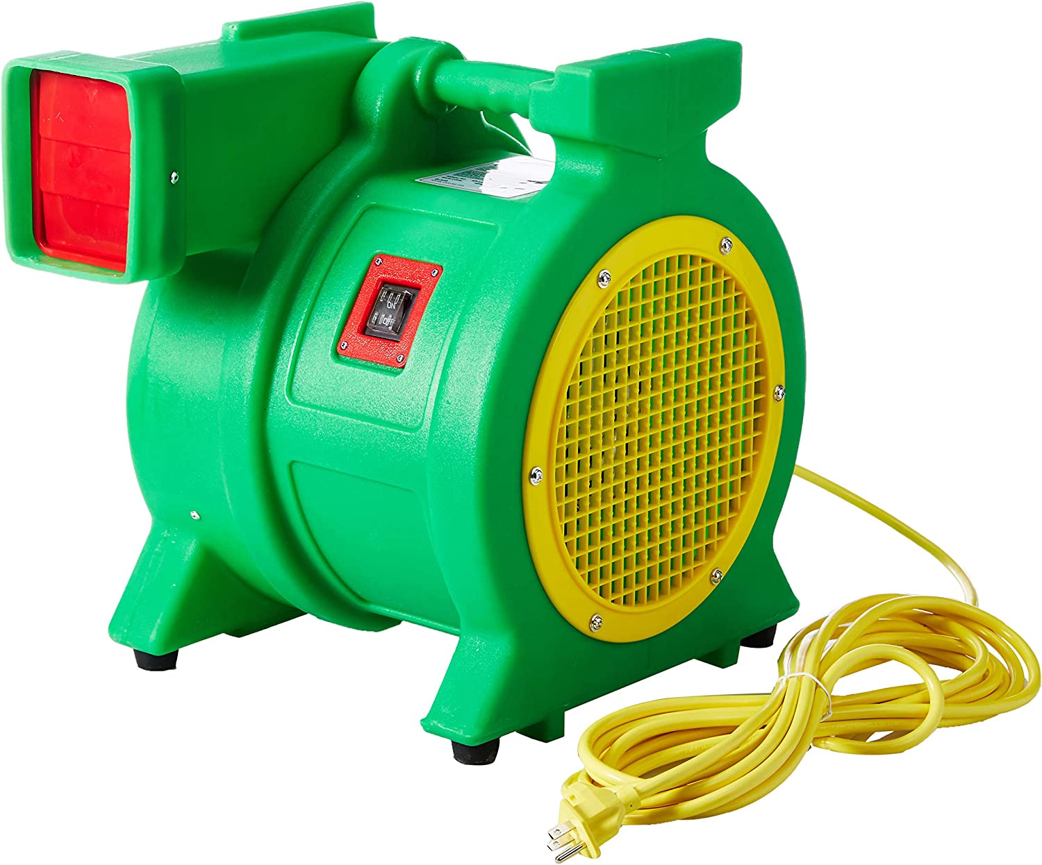 B-Air Kodiak 1.5 HP ETL Air Blower | Powerful Bounce House Blower Fan for Large Inflatable Bounce House, Bouncy Castle and Slides