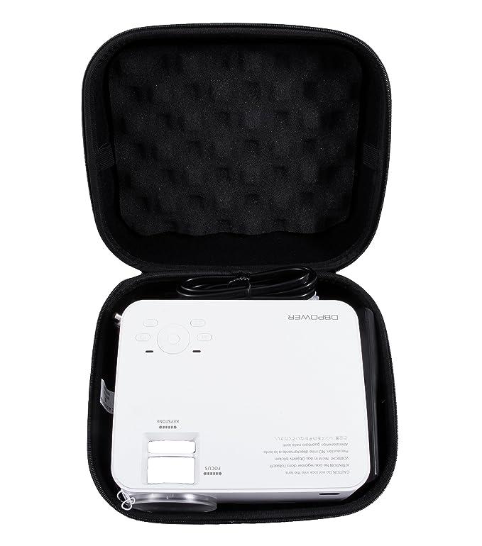 casematix Proyector Case Fits DBPOWER T21/T20 1500 lúmenes LCD ...