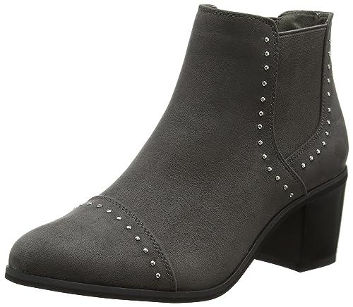 New Look Bud - Botines Chelsea para Mujer, gris, 5 UK 38 EU: Amazon.es: Zapatos y complementos