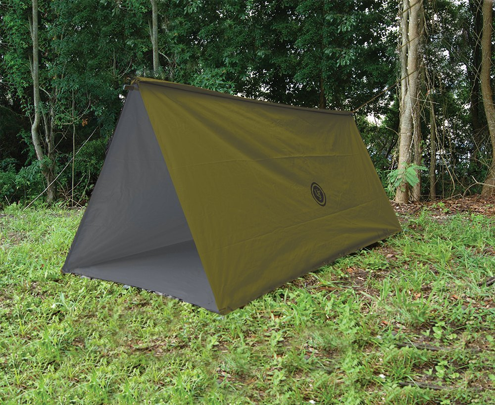 UST Tube Tarp and Camping Shelter, Green by UST