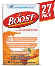 Boost Fruit Flavoured Drink Peach, 237ml 27 count