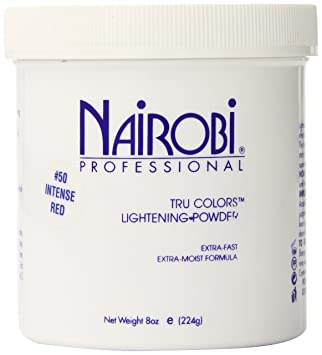 Amazon Com Tru Colors Lightening Powder 50 Intense Red By Nairobi For Unisex 8 Oz Powder Hair Care Styling Products Beauty