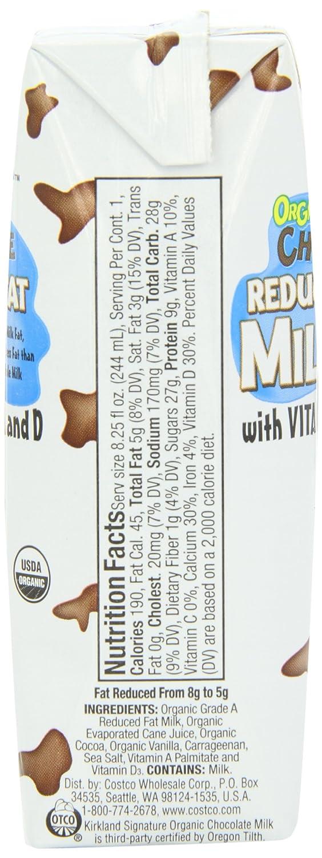 Costco Organic Milk