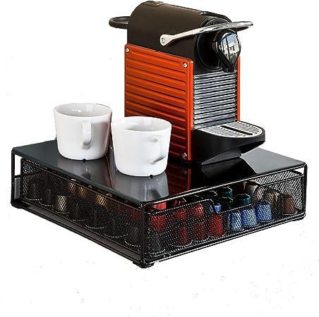 SoBuy® Caja de cápsulas de café de cajón para cápsulas Nespresso ...