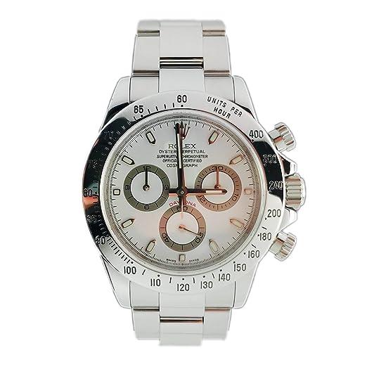 Rolex Daytona Oyster perpetuo Cosmograph 116520 - Reloj para Hombre: Daytona: Amazon.es: Relojes
