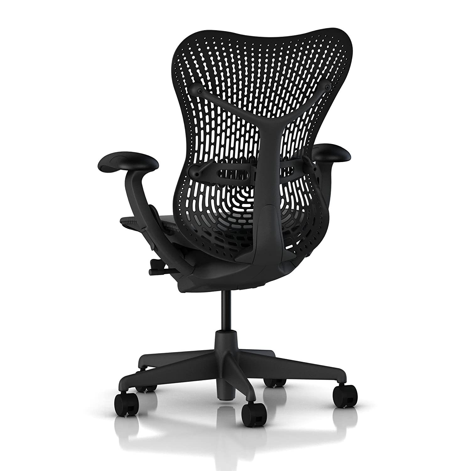 amazoncom herman miller mirra® chair fully loaded color  - amazoncom herman miller mirra® chair fully loaded color graphitekitchen  dining