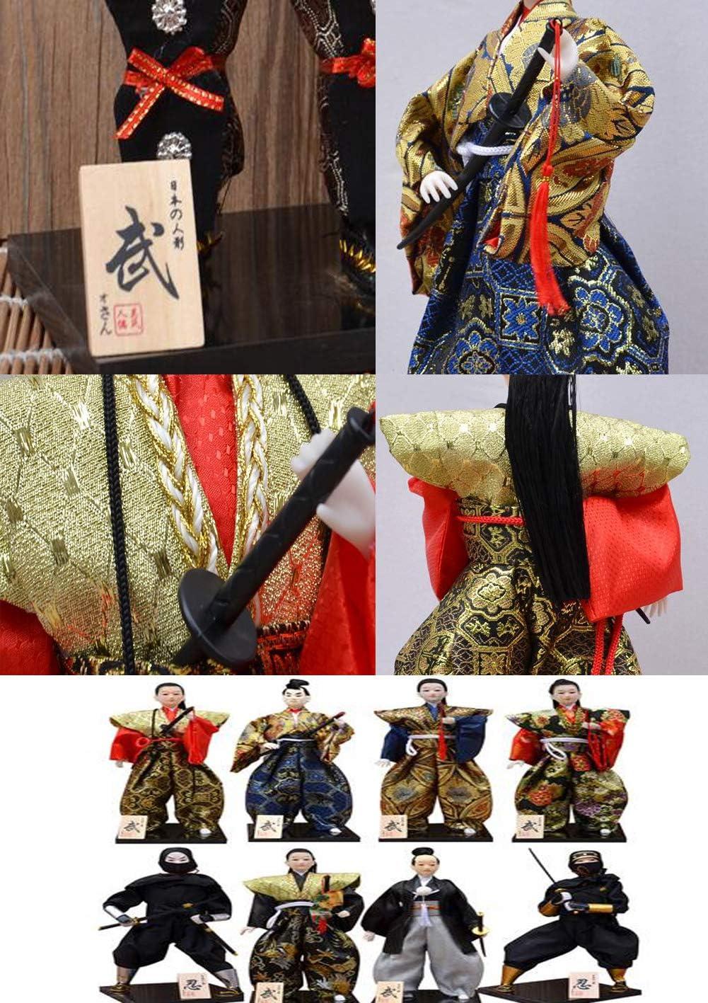 Wukong Direct Figurine de Guerrier de Figurine de samoura/ï Japonais Miniature Faite Main pour Restaurant /à la Maison ou de Sushi#8
