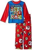 Super Mario Brothers Juego de Pijama de Forro Polar de 2 Piezas para niños